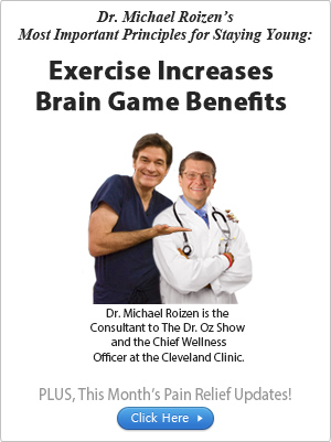 Exercise Increases Brain Game Benefits