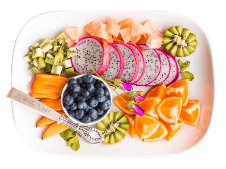Foods rich in anti-oxidants