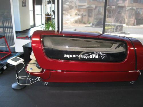 An aqua massage machine in Shelbyville